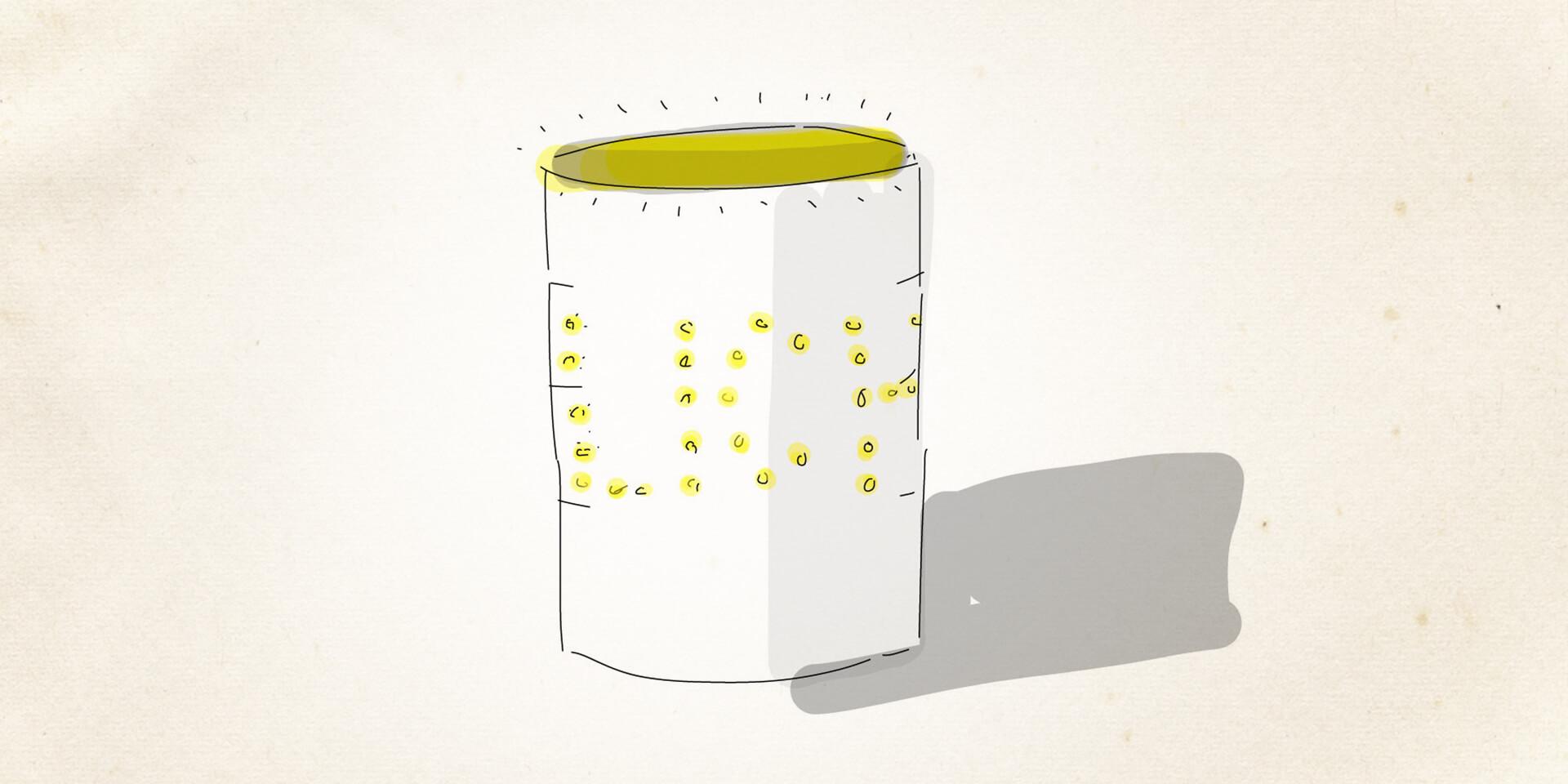 Bastelanleitung für eine Blechdosenlaterne